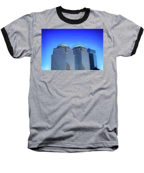Buildings 2,3,4 In New York's Financial District Baseball T-Shirt