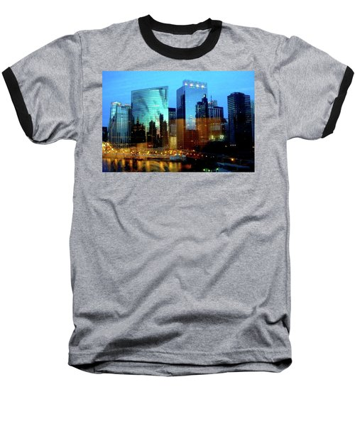 Reflections On The Canal Baseball T-Shirt