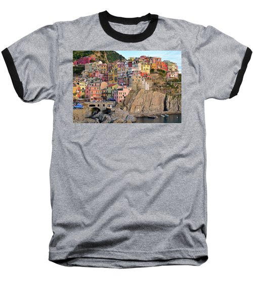 Baseball T-Shirt featuring the photograph Built On The Slope by Frozen in Time Fine Art Photography