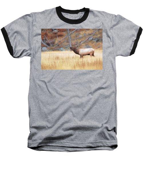 Bull Elk Baseball T-Shirt
