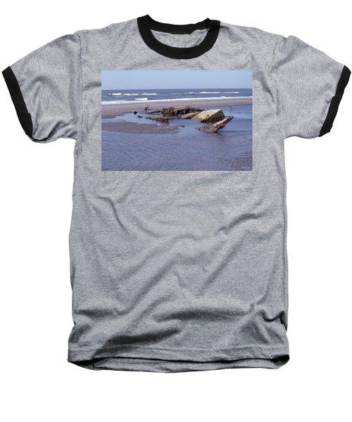 Bull Island 1 Baseball T-Shirt