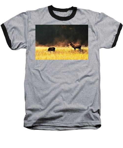 Bull With His Girl Baseball T-Shirt