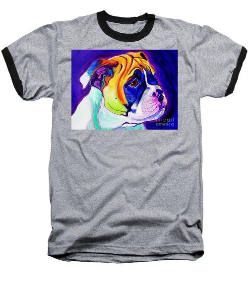 Bulldog - Pup Baseball T-Shirt
