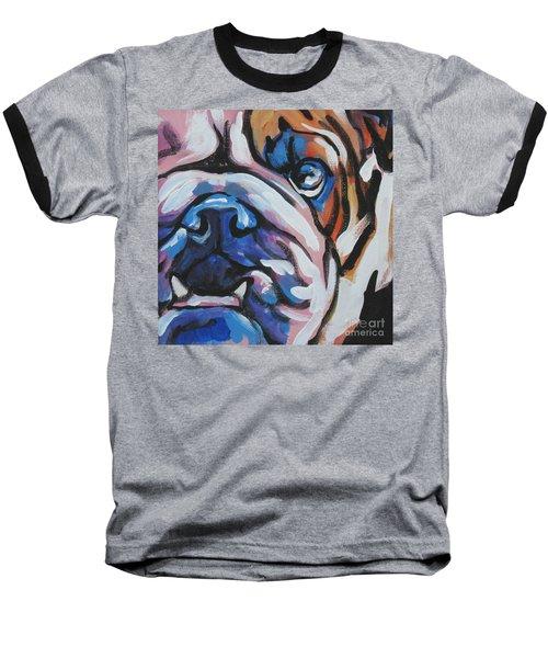 Bulldog Baby Baseball T-Shirt