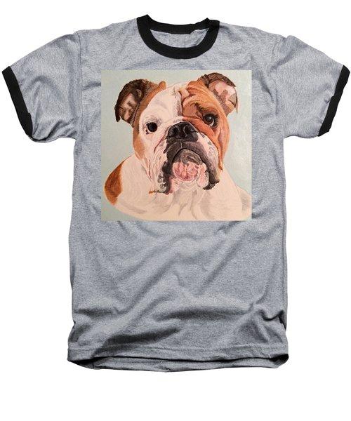 Bulldog Beauty Baseball T-Shirt