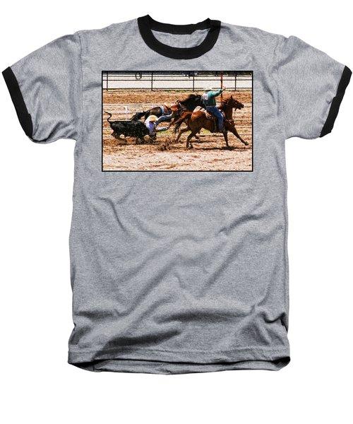 Bulldogging Baseball T-Shirt