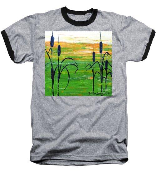 Bullrushes Baseball T-Shirt