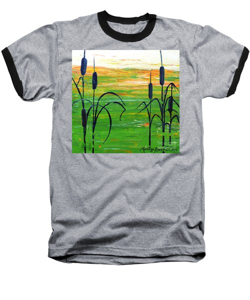 Bullrushes Baseball T-Shirt