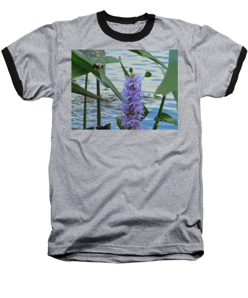 Bumblebee Pickerelweed Moth Baseball T-Shirt