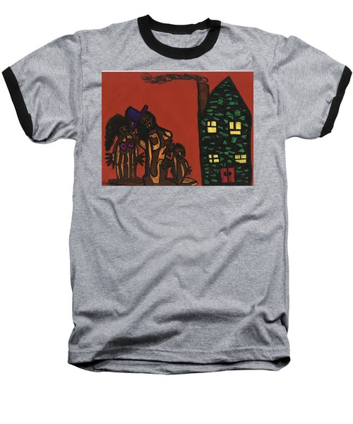 Bumpkin Dwellings Baseball T-Shirt