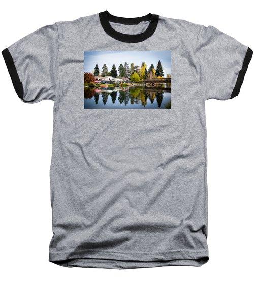 bungalows on the Deschutes Baseball T-Shirt