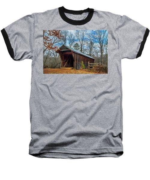 Bunker Hill Cvered Bridge Baseball T-Shirt