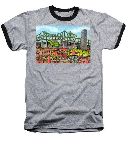 Bunkerhill And Tobin Baseball T-Shirt by Paul Meinerth