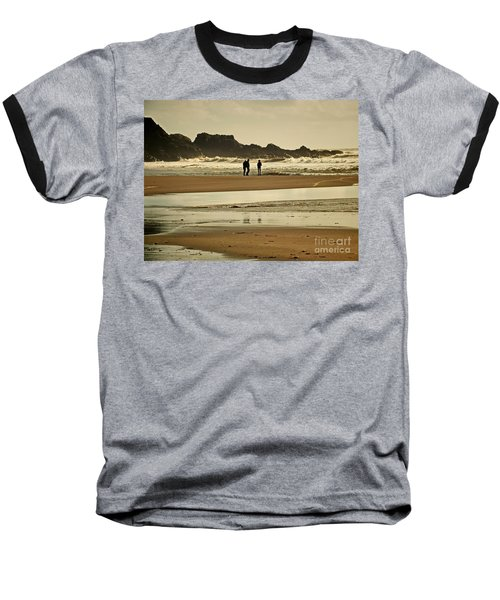 Bunmahon Beach 2  Coppercoast  Baseball T-Shirt