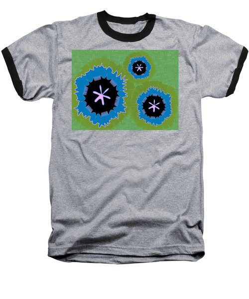 Baseball T-Shirt featuring the digital art Bunny Flower by Kevin McLaughlin