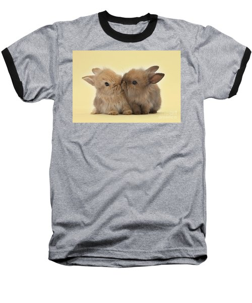 Bunny Kisses Baseball T-Shirt