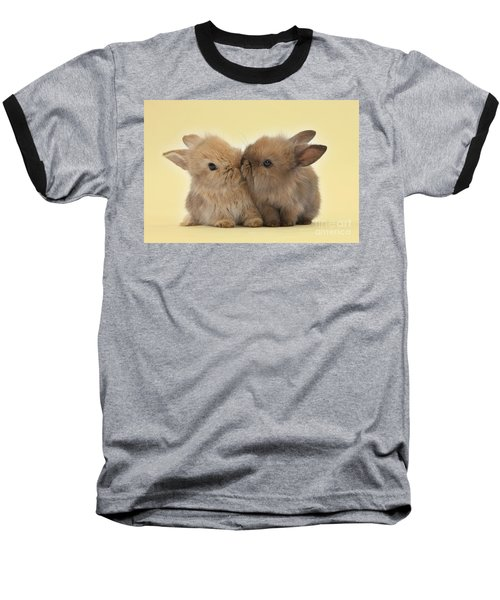 Bunny Kisses Baseball T-Shirt