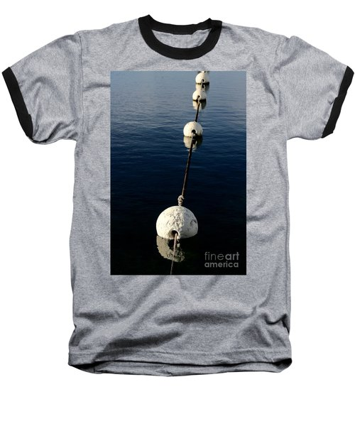 Baseball T-Shirt featuring the photograph Buoy Descending by Stephen Mitchell