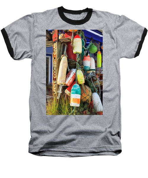 Buoys At The Crab Shack Baseball T-Shirt