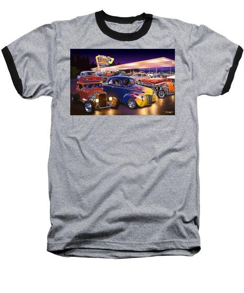 Burger Bobs Baseball T-Shirt