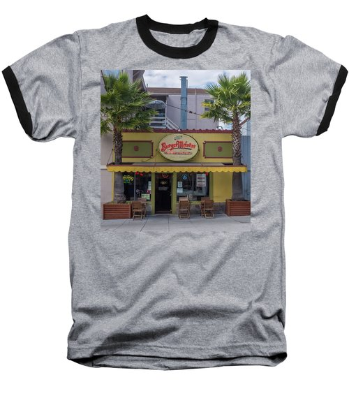 Baseball T-Shirt featuring the photograph Burgermeister Restaurant, San Francisco by Frank DiMarco