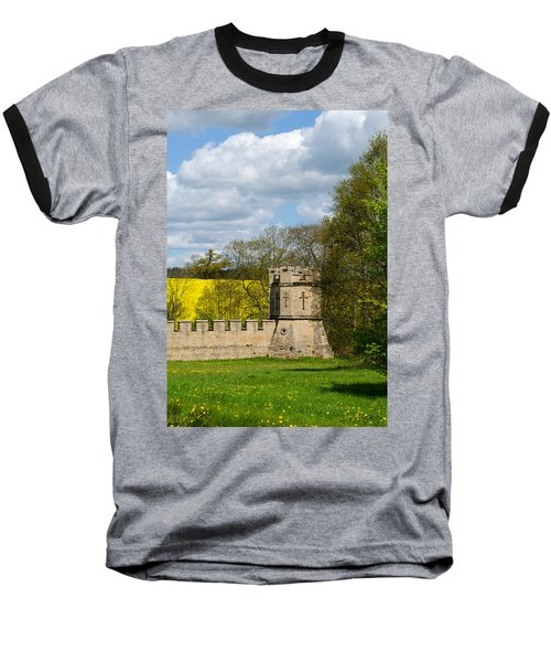 Burghley House Fortifications Baseball T-Shirt