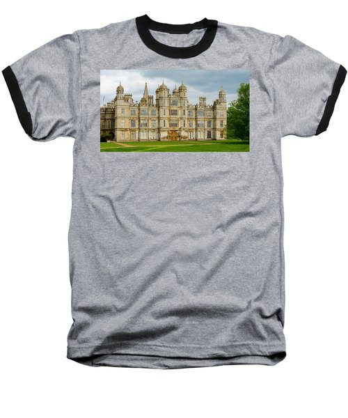 Burghley House Baseball T-Shirt