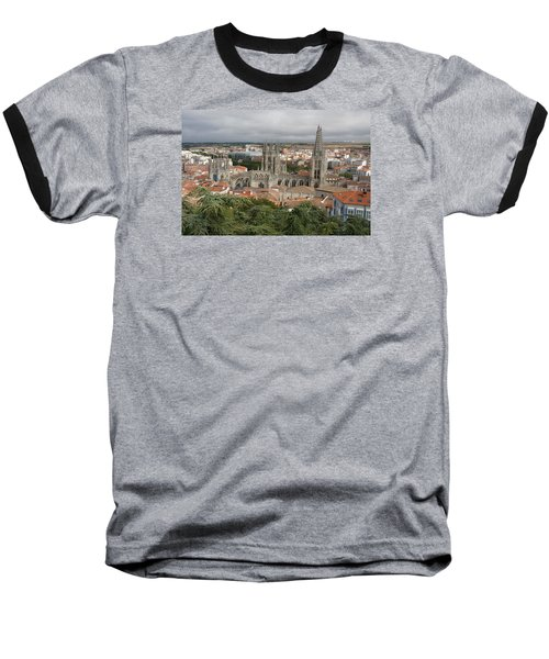 Baseball T-Shirt featuring the photograph Burgos by Christian Zesewitz