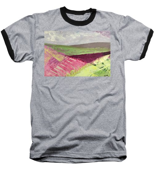 Burgundy Fields Baseball T-Shirt