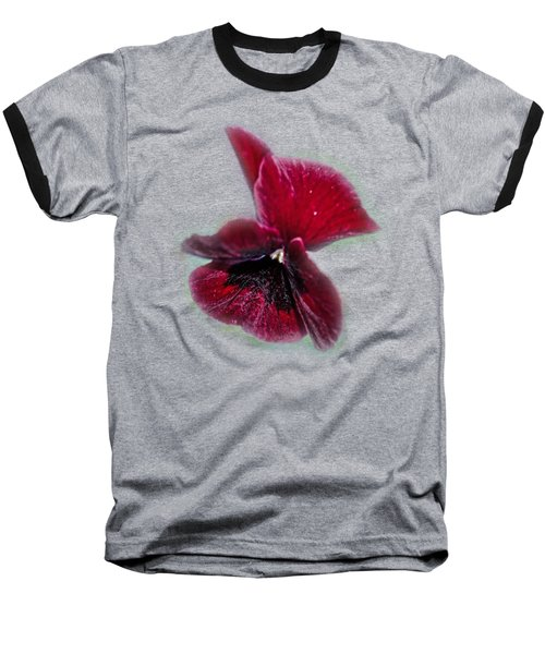 Burgundy Pansy  Tee-shirt Baseball T-Shirt
