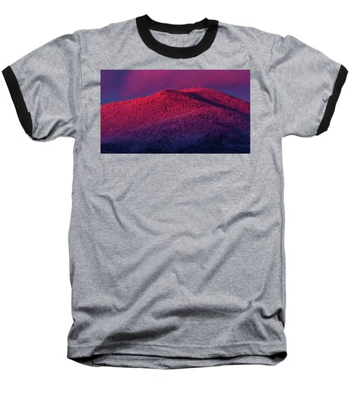 Burke Alpenglow Baseball T-Shirt