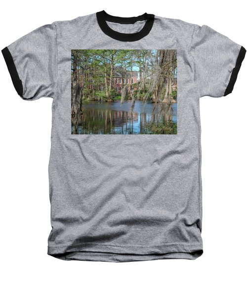 Baseball T-Shirt featuring the photograph Burke Hall Cypress Lake by Gregory Daley  PPSA