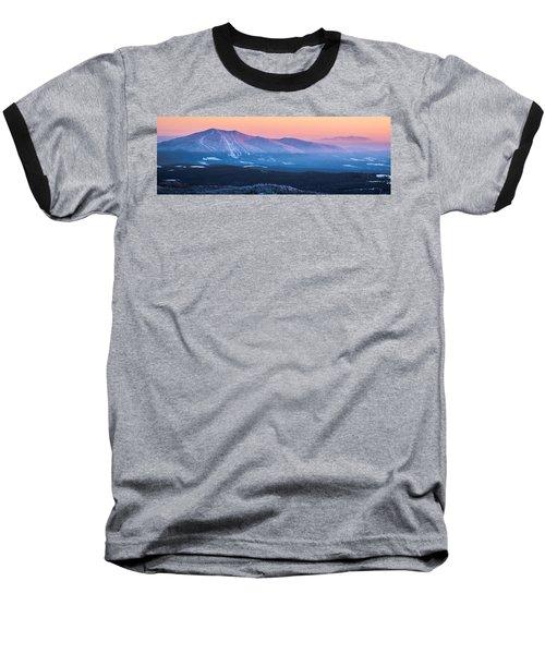 Burke To Moosilauke Baseball T-Shirt by Tim Kirchoff