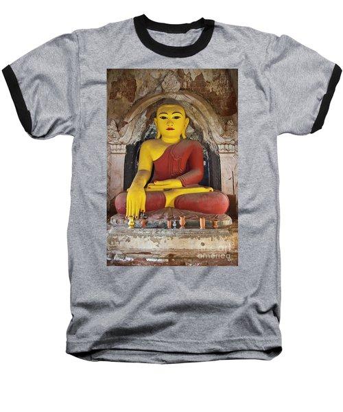 Burma_d1150 Baseball T-Shirt by Craig Lovell