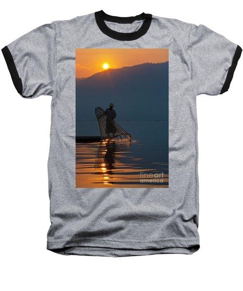 Baseball T-Shirt featuring the photograph Burma_d143 by Craig Lovell