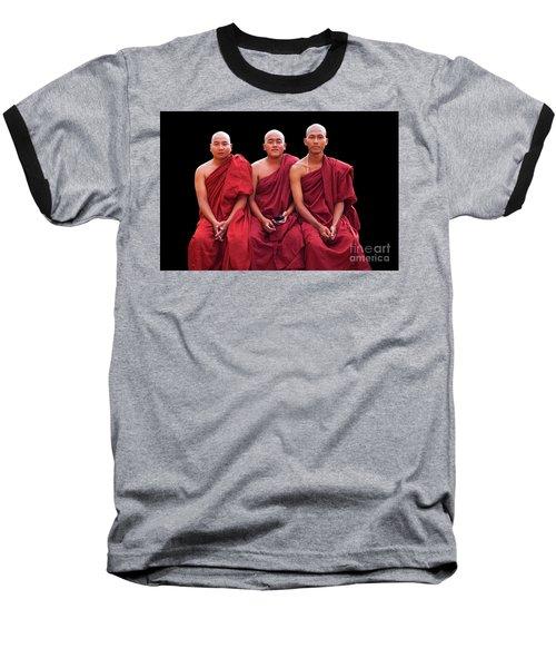 Burma_d1610 Baseball T-Shirt by Craig Lovell
