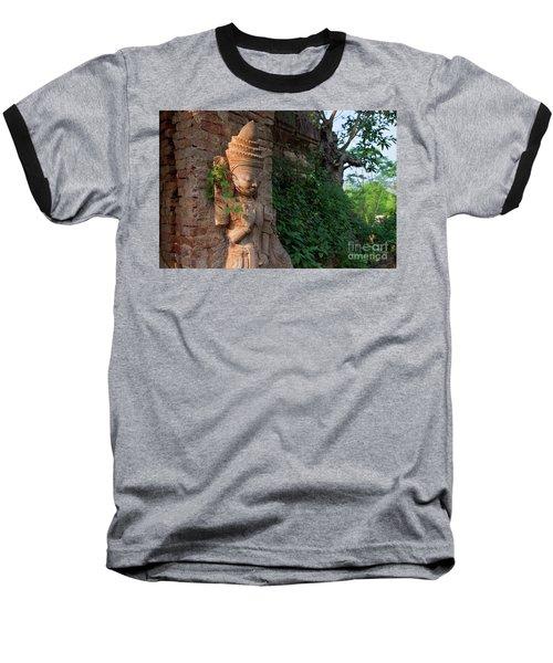 Baseball T-Shirt featuring the photograph Burma_d195 by Craig Lovell