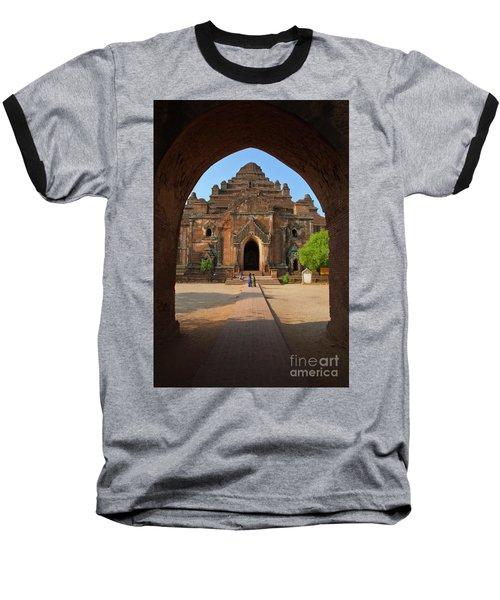 Baseball T-Shirt featuring the photograph Burma_d2095 by Craig Lovell