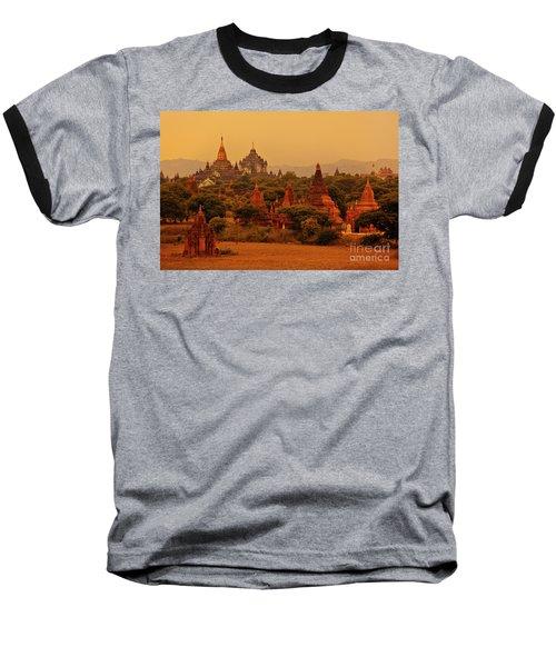Baseball T-Shirt featuring the photograph Burma_d2136 by Craig Lovell
