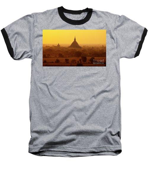 Burma_d2227 Baseball T-Shirt by Craig Lovell
