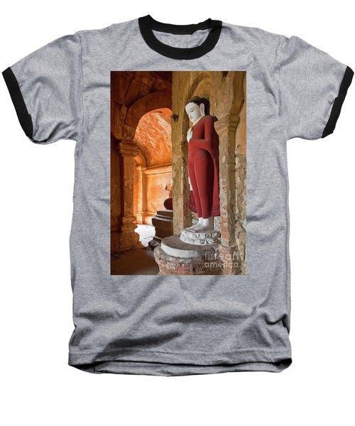 Baseball T-Shirt featuring the photograph Burma_d2280 by Craig Lovell
