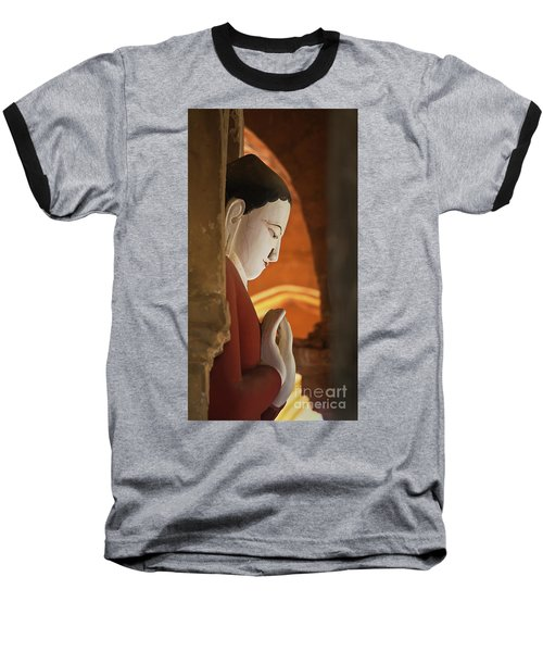 Baseball T-Shirt featuring the photograph Burma_d2287 by Craig Lovell