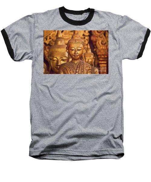 Baseball T-Shirt featuring the photograph Burma_d579 by Craig Lovell