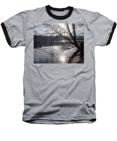 Baseball T-Shirt featuring the photograph Burnaby Walk by Kim Prowse