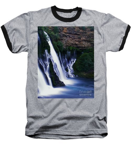 Baseball T-Shirt featuring the photograph Burney Blues by Peter Piatt