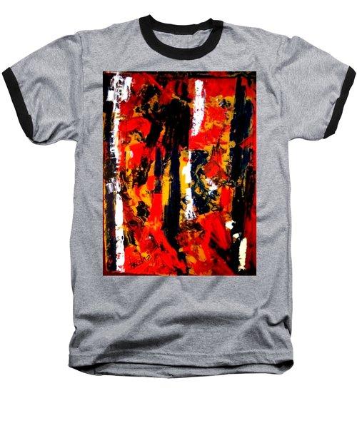 Burning Bright Baseball T-Shirt