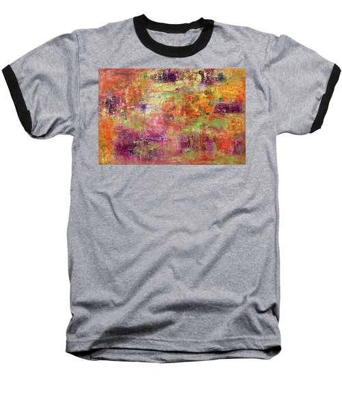 Burning Fire #2 Baseball T-Shirt