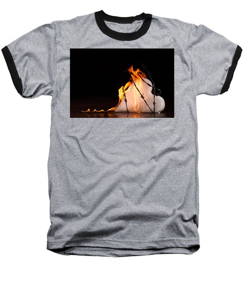 Burning Love Baseball T-Shirt