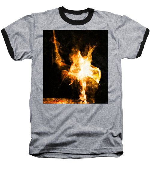 Burning Man Baseball T-Shirt