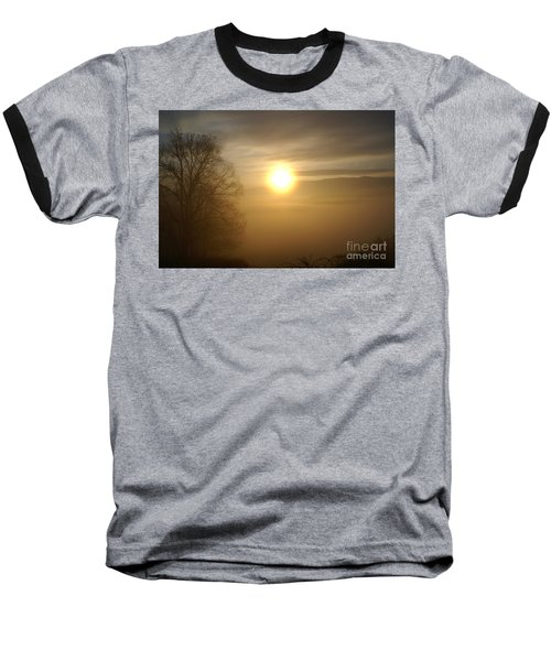 Burning Off The Fog Baseball T-Shirt